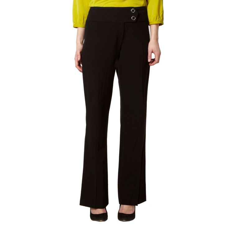Debenhams plain black trousers from The Collection Petite