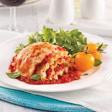 Rouleaux de lasagne, sauce à la viande - Recettes - Cuisine et nutrition - Pratico Pratiques - Comfort food