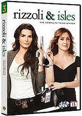 Rizzoli & Isles 3. kausi dvd hinta 39,95 €.