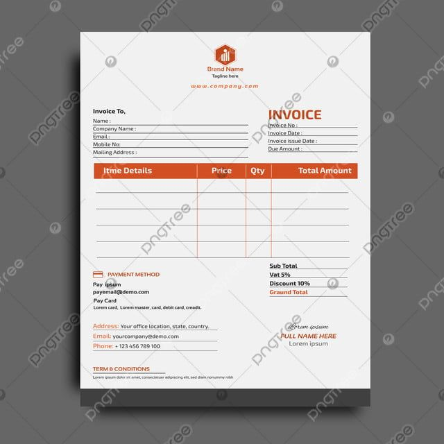 Corporate Business Invoice Design Template Invoice Design Template Invoice Design Invoice Template