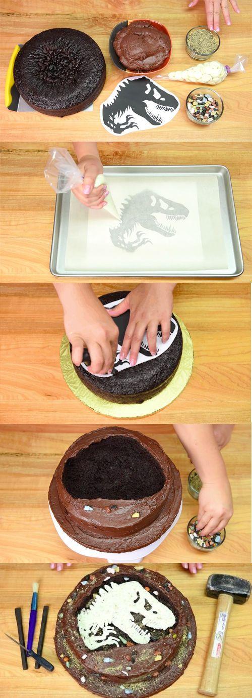 Cake image transfer