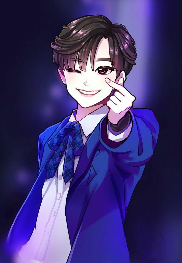 Pin By Lucia29 On Fanart Kpop Fanart Fan Art Cute Drawings