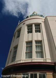 The former T & G Building (1936), Napier, New Zealand.