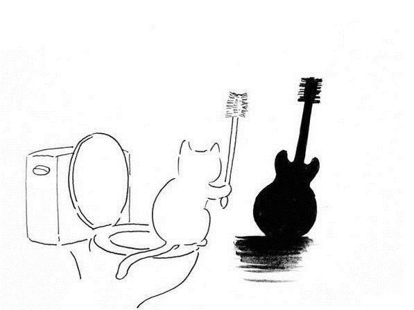 сравнение прикольные рисунки гитары самая важная установка