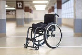 Unique daily-use rigid wheelchair Ultina INDIVIDUAL focused on active lifestyle.