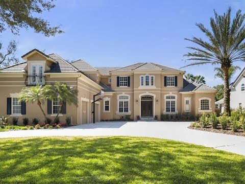LUXURY HOMES | BAY HILL GATED WATERFRONT ESTATE | ORLANDO FLORIDA - http://jacksonvilleflrealestate.co/jax/luxury-homes-bay-hill-gated-waterfront-estate-orlando-florida/