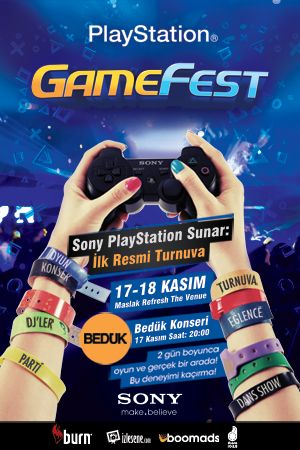 Dergicik: GameFest, Sony PlayStation'ın gerçeklestirdigi ilk resmi PlayStation festivali!