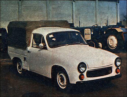 OG | 1972 FSO Syrena R-20 | Pick-up prototype based on Syrena 104