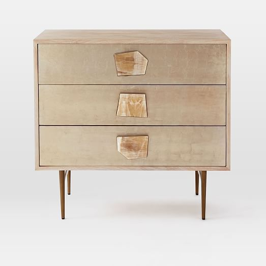 Roar + Rabbit Jeweled 3-Drawer Dresser