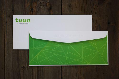 Tuun Consulting - Envelope Design www.kristingibson.ca