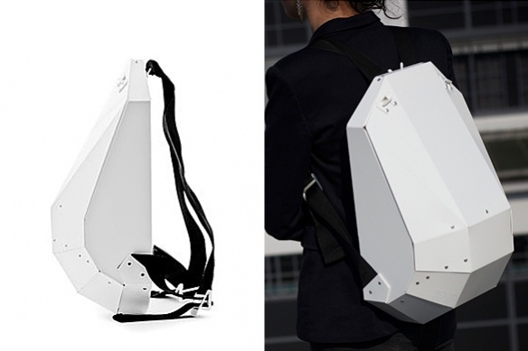Solid Gray Backpack | moddea