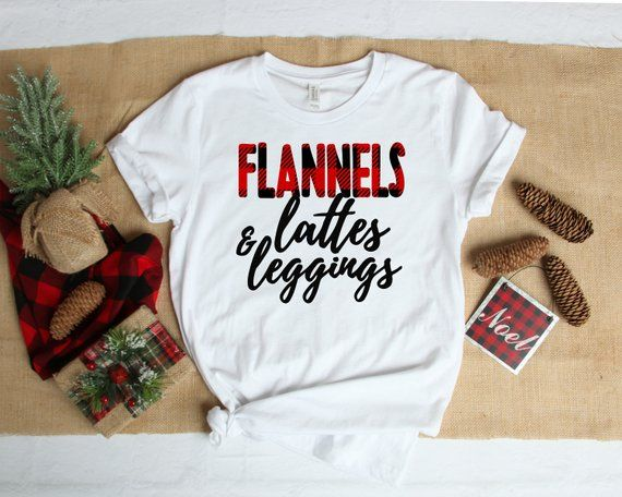 Christmas Shirt – Winter Shirt – Women's Shirt – Flannel – Christmas Tee – Women's Tee