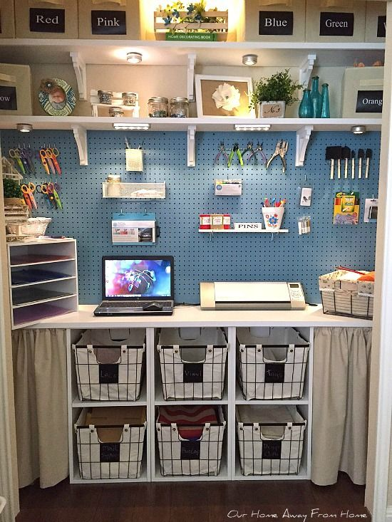 MORE WORK SPACE IN THE CRAFT ROOM