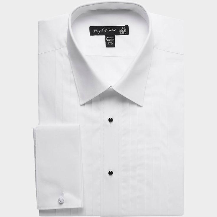 Joseph & Feiss Slim Fit Tuxedo Shirt | Men's Wearhouse