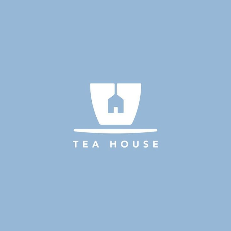 I enjoyed how the name was incorporated into the logo literally, because you can distinguish the tea and the tiny house. (logo design)