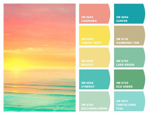 Tropical Colors For Home Interior: Cheerful, Uplifting, And Relaxing All At Once. Tropical