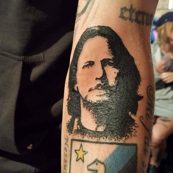 Eddie Vedder Tattoos