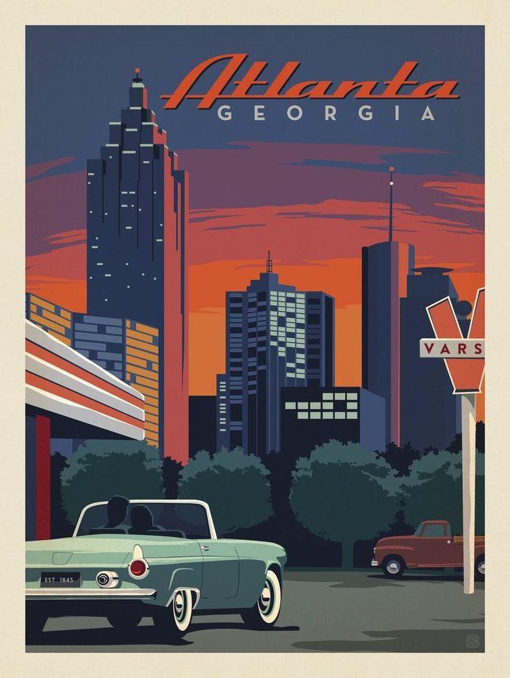 Anderson Design Group – American Travel – Atlanta: Skyline