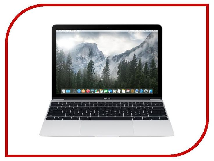 Ноутбук Apple MacBook 12 MLHA2RU/A Silver Intel Core M3 1.1 GHz/8192Mb/256Gb/Intel Hd Graphics/Wi-Fi/Bluetooth/Cam/12.0/2304x1440/Mac Os X
