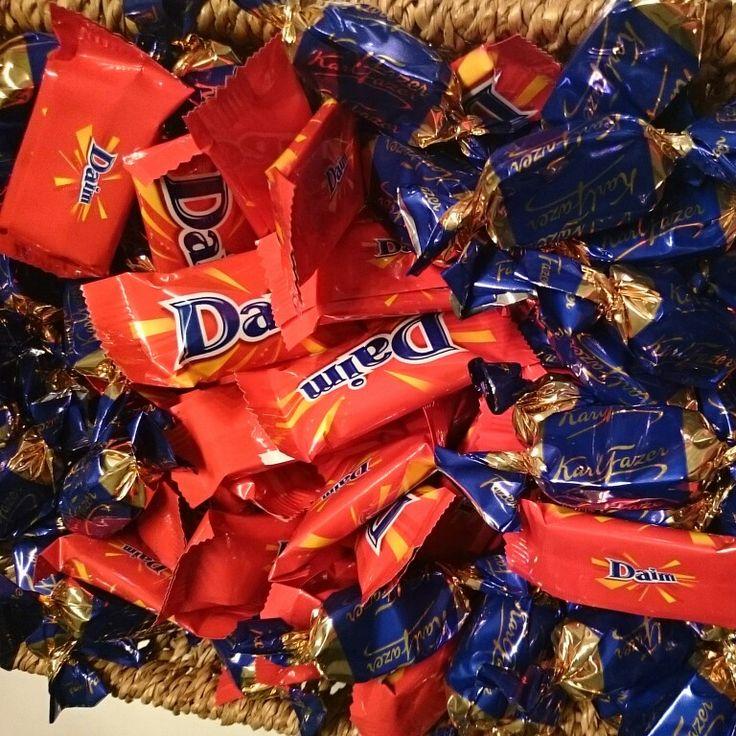 #chocolate #fazer #daim