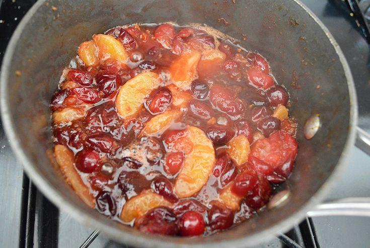 A Paleo Cranberry Sauce Does Exist