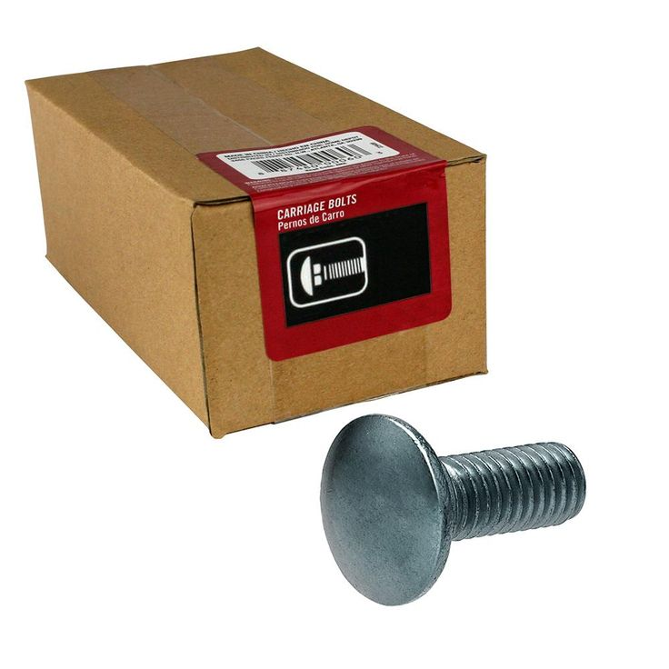 Everbilt 38 in16 x 4 in stainless steel carriage bolt