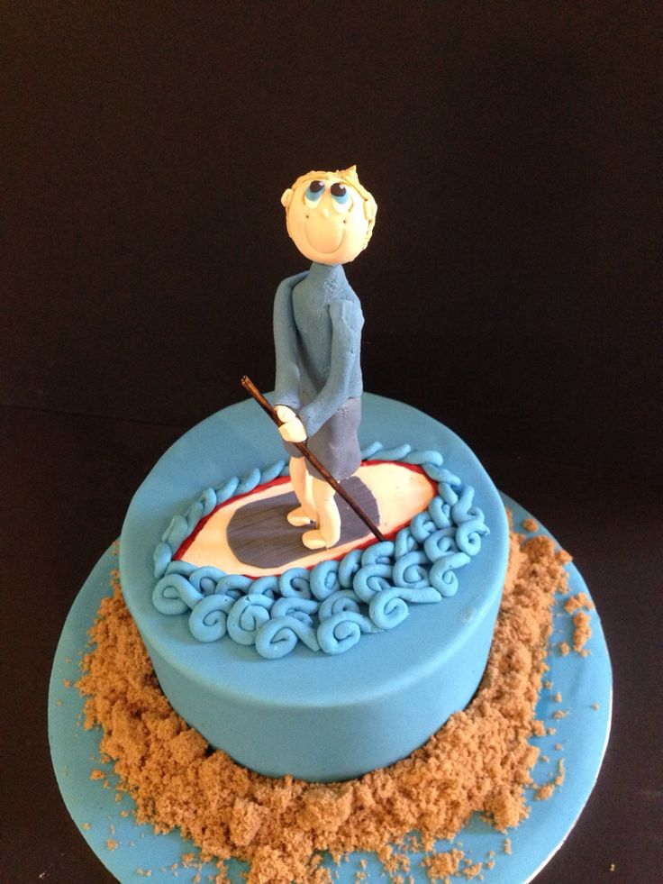 Stand Up Paddle Board Cake By Phillipa S Cakes Phillipa