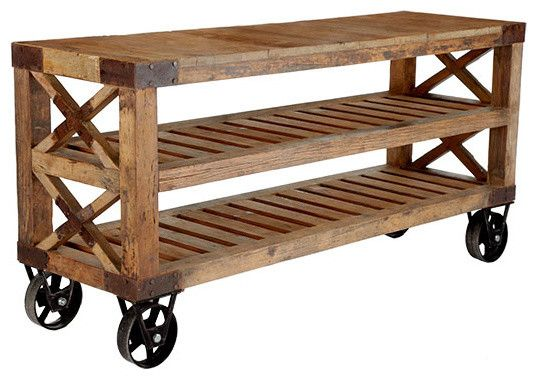 ShelvingDecor, Buffets, Ideas, Recycle Pine, Pine Consoles, Wood Consoles, Furniture, Diy, Pine Wood