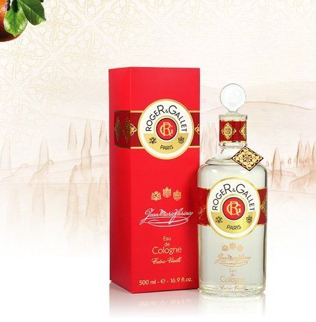 Roger & Gallet Jean Marie Farina Extra Vieille Eau De Cologne 500 Ml. / 16.9 Oz by Roger & Gallet Jean Marie Farina Extra Vieille Eau De Cologne 500 Ml. / 16.9 Oz. $115.95. A joyful fragrance bursting with zesty, sun kissed citrus accords. Refreshing, reviving, awakening!. A refreshing scent based upon the zesty citruses abundant in the Mediterranean garden of the late and great Jean Marie Farina, heir of the Eau de Cologne.. All the freshness of an Italian garden on ...