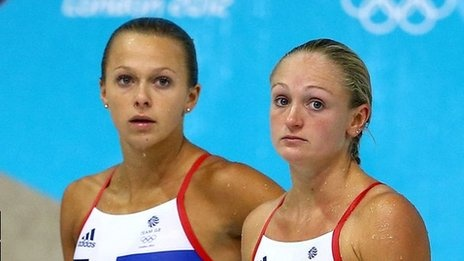 "Diving: Team GB's European champions Tonia Couch and Sarah Barrow say they have ""no regrets"" after finishing fifth in the synchronised diving 10m platform final."