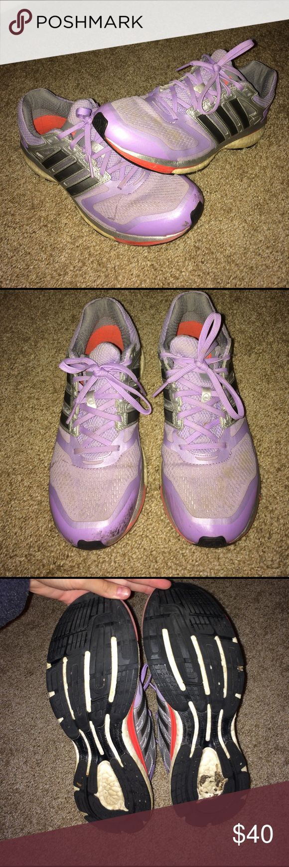 Adidas Glide Boost Gently used. Super comfy! Adidas Shoes Athletic Shoes