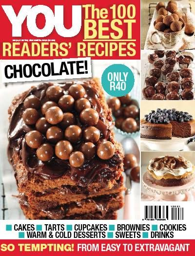 You Chocolate Magazine. Food. Sweets. Cakes. Chocolate. Recipes. Desserts.