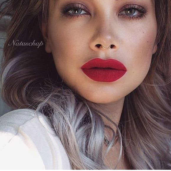 Matte red lipstick •Brand new  •MATTE LIQUID LIPSTICK •Highly pigmented lasts all day •Matte finish  •Color: #32 dupe of MAC Russian Red                                 ***NOT MAC only listed as mac for attention, same quality MAC Cosmetics Makeup Lipstick