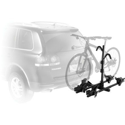 Thule hitch-mounted bike rack from REI