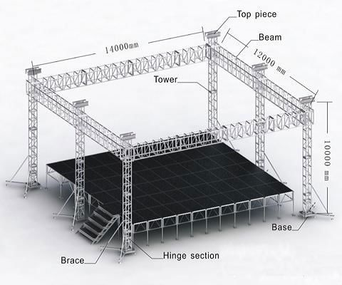 outdoor or indoor lighting aluminum truss system View truss . & 32 best Truss images on Pinterest | Stage lighting Banners and ... azcodes.com