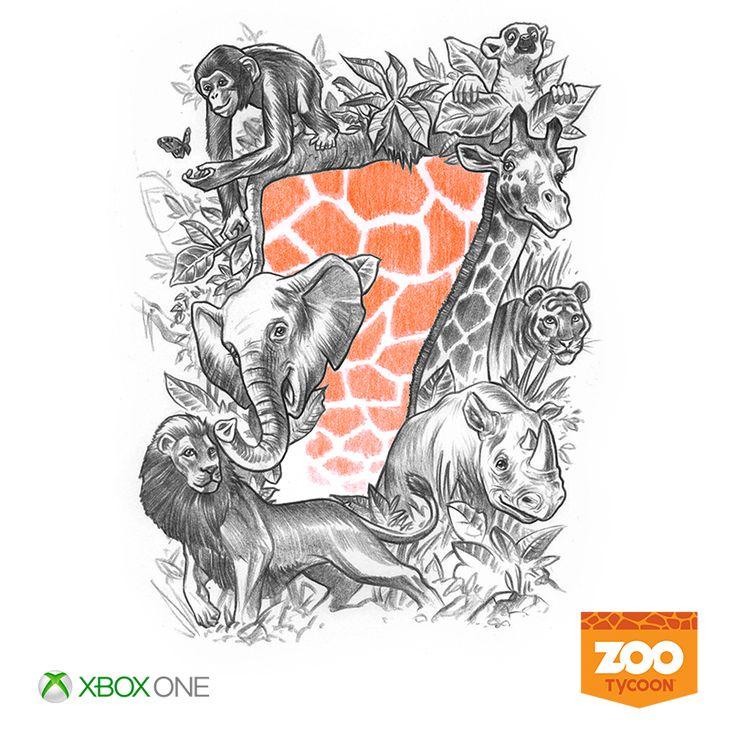 7 days until #XboxOne. #ZooTycoon