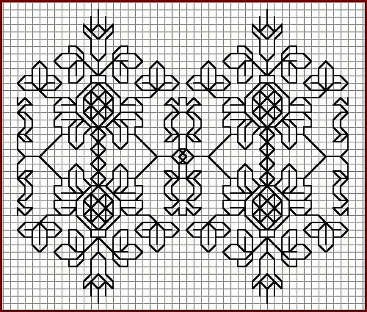 97 best Stitches images on Pinterest | Blackwork embroidery, Punch ...