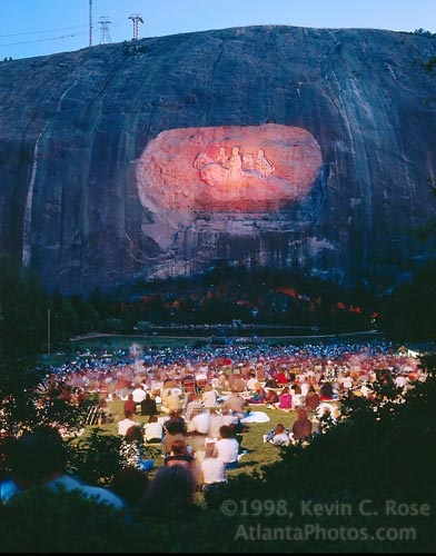 Stone Mountain Laser Show - will never forget this!!!
