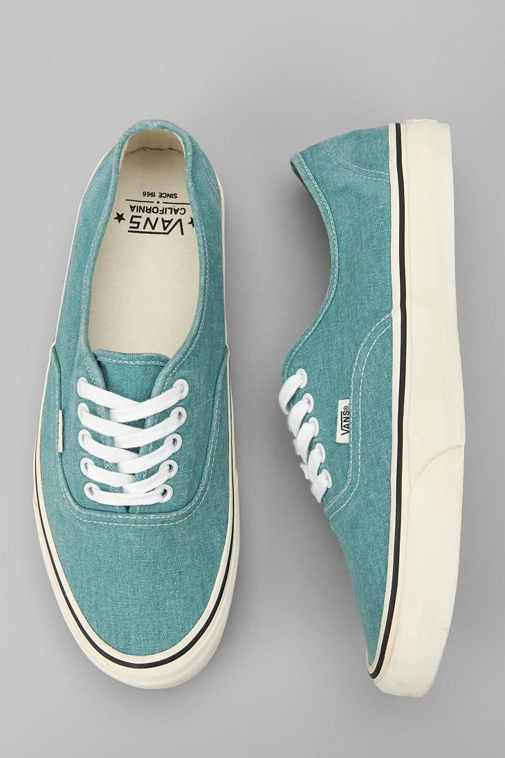 Vans California Washed Canvas Authentic Sneaker  #UrbanOutfitters