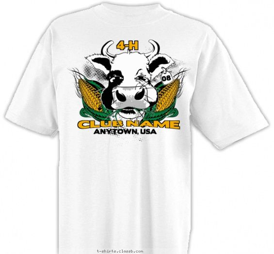17 best images about 4 h club t shirt designs on pinterest for T shirts for clubs