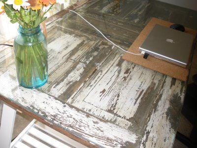 ... Diy Door Desk Ideas - Diy Door Desk Ideas Made From A Wood Intended Design