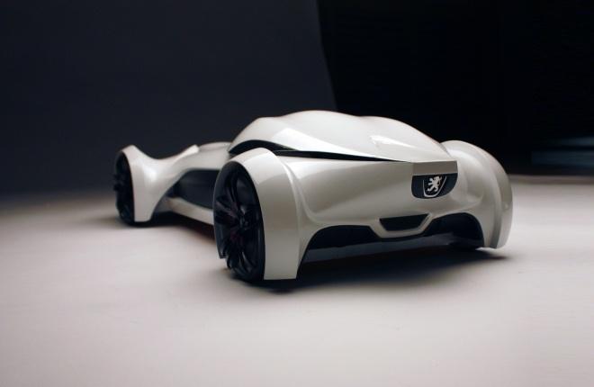 Futuristic Car, Future Vehicle, Concept Car