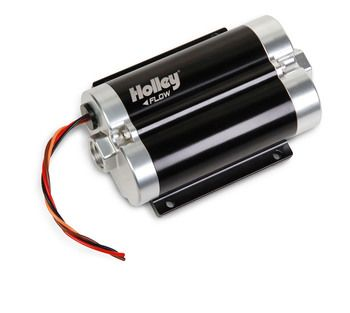 Holley Dominator 200 GPH Inline Billet Fuel Pump 12-1800