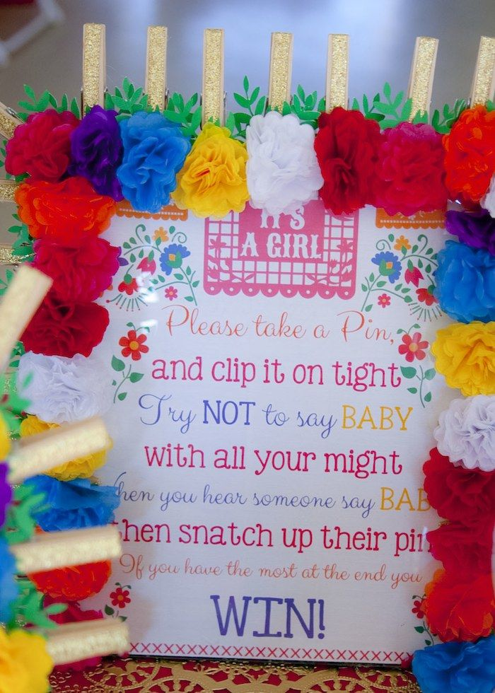 Perfect Colorful Mexican Themed Baby Shower With Lots Of Really Fun Ideas Via  Karau0027s Party Ideas | Baby Shower Ideas | Pinterest | Mexicans, Babies And  Fiestas
