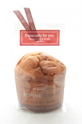「マフィンのラッピング」お菓子教室SweetRibbonが提案する簡単かわいいお菓子ラッピング | お菓子・パンのレシピや作り方【corecle*コレクル】
