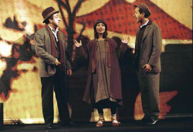 20/03/2003 - Cronaca dalla tappa romana di Eduardo al Kursaal al Teatro Eliseo di Roma e intervista a Rocco Papaleo di Elena Fantini
