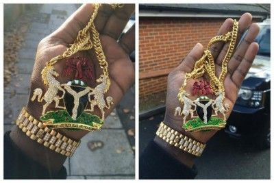 See Customized Nigeria Coat Of Arm Made By Malivelihood (Photo)