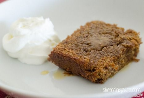 Sticky Toffee Scan Bran Pudding   Slimming Eats - Slimming World Recipes