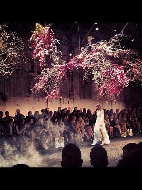 Amazing installation by Saskia Havekes of Grandiflora