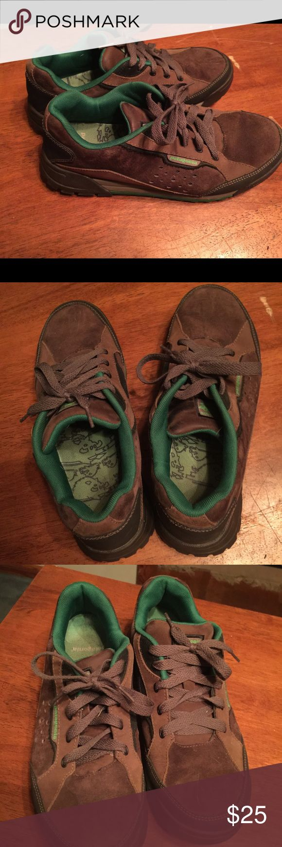 Patagonia Hog Tie Brown Trail Sport Sneakers sz 9 Great shoes for a great price! Patagonia Shoes